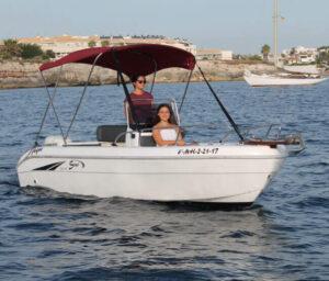 Motor-Boat-rental-Saver-Open-520-Ciutadella-Menorca