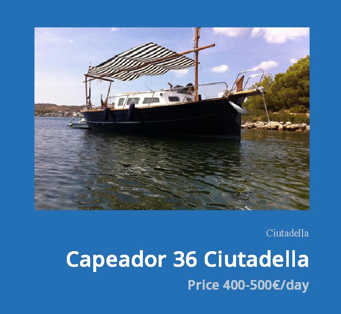 01-Capeador-36-Ciutadella-llaut-menorquin-rental