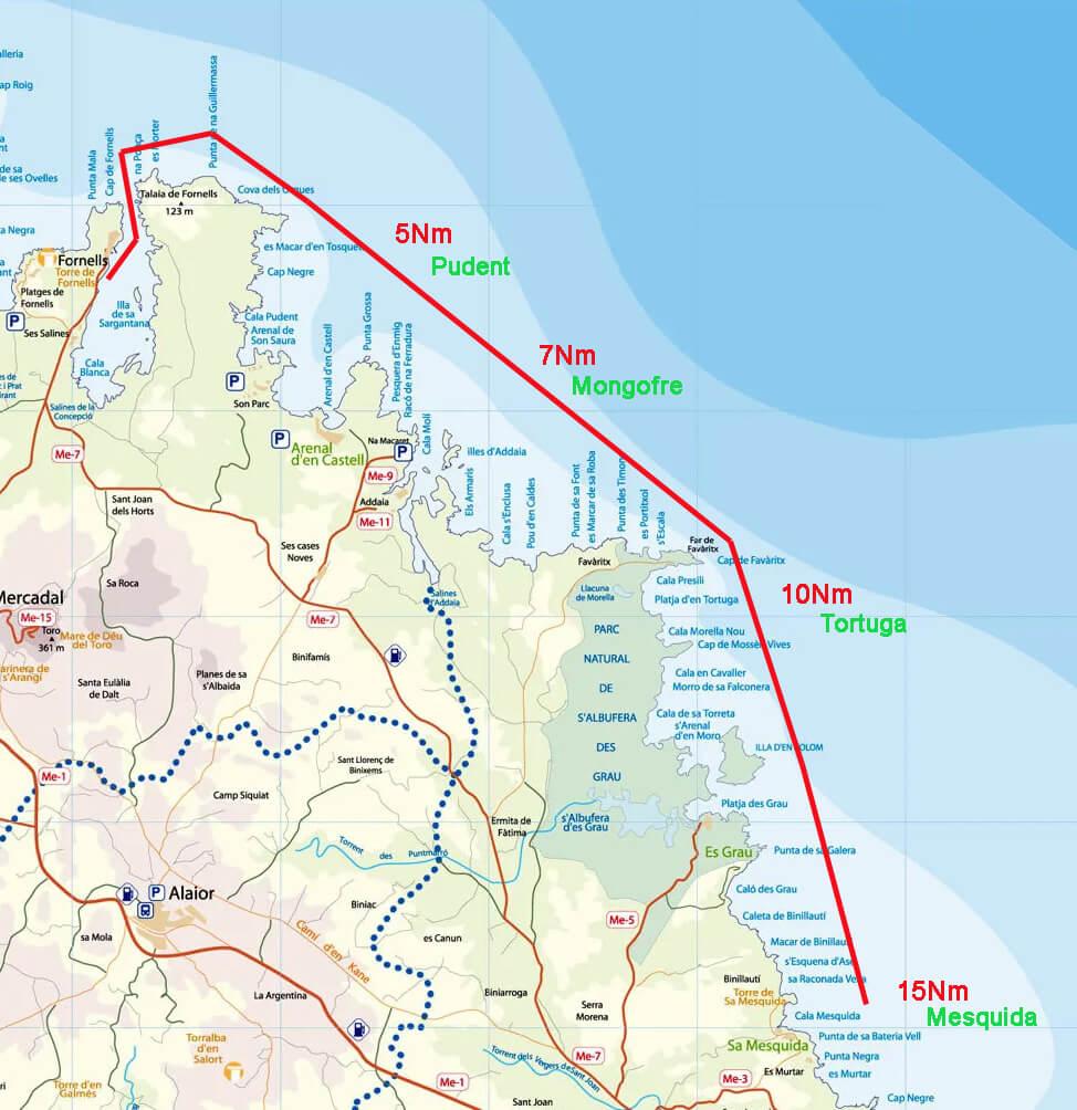 navegar-por-menorca-ruta-fornells-este