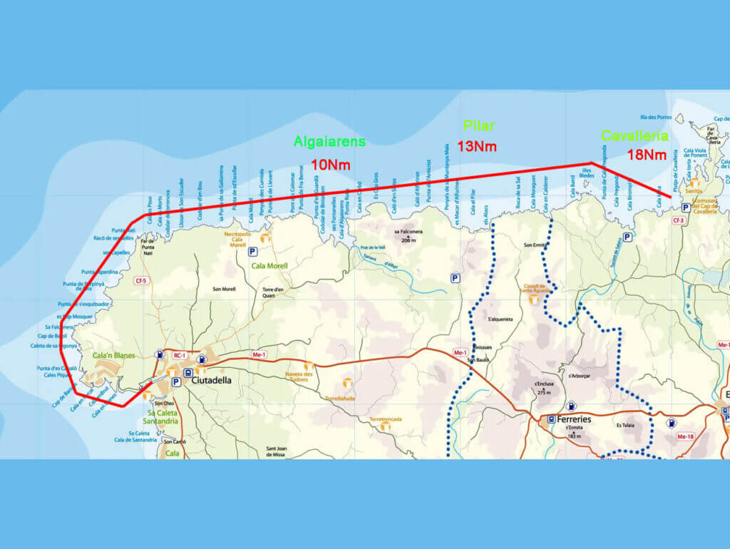navegar-por-menorca-ruta-noroeste