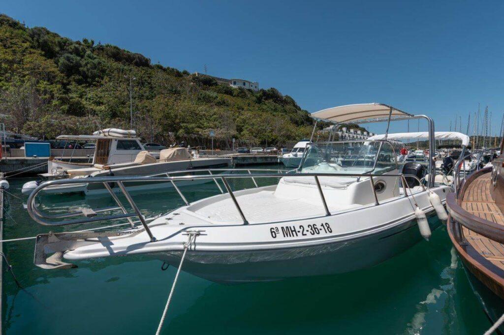 01-aquamar-motor-boat-hire-menorca